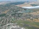 Vol des planeurs en aout 2009 à Bourges