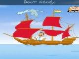 Noukaa Vihaaram (A Sailor went to sea) - Nursery Rhyme with Lyrics & Sing Along