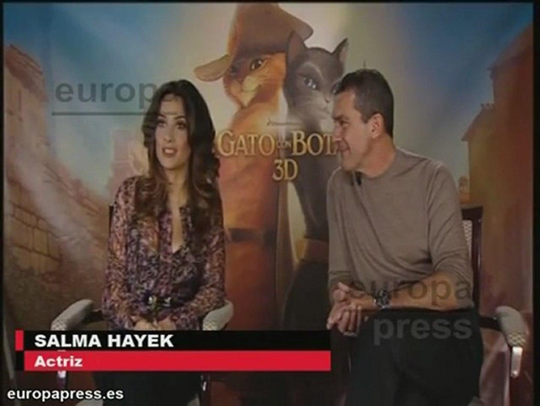 Antonio Banderas presenta 'El gato con botas'