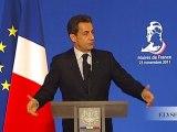 Discours de N. Sarkozy à l'occasion du 94ème Congrès de l'Association des Maires de France (AMF)