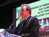 """24ème concours """"Meilleurs Ouvriers de France"""" : Luc Chatel remet leurs médailles aux lauréats"""