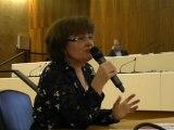 Brigitte jannot intervient sur la situation du logement à Givors et au Grand Lyon aux rencontres élus, militants, citoyens Déloger la crise