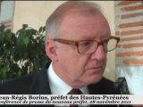 Hautes-Pyrénées Préfet Jean-Régis Borius