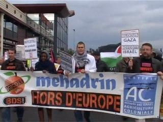 BDSFrance contre Mehadrin. Première action Chateaurenard (13) 19-11-2011.