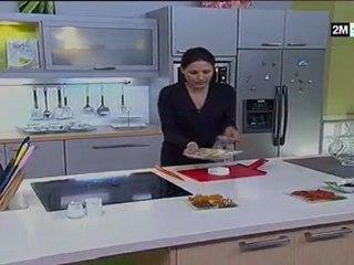Choumicha 2m - Flan de Crevettes Grise aux fromage et épinard