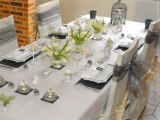 Deco table de mariage : modèles de tables de mariage - Décorer une table de mariage