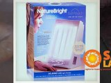About the NatureBright SunTouch Plus SAD Light and Ion Therapy SAD Lamp: General Reviews and Complaints