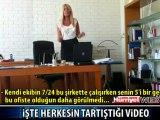 HERKES BU SEKRETERİN İSTİFA ŞEKLİNİ KONUŞUYOR
