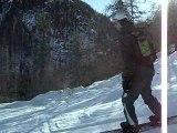 Ski Serre Chevalier 2007 piste gelée