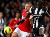 Manchester United 1-1 Newcastle Chicharito lucky-goal, Ba controversial-penalty
