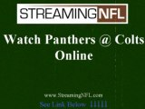 Watch Panthers Colts Online | Colts Panthers Live Streaming Football