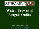 Watch Bengals Browns Online | Browns Bengals Live Streaming Football