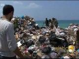 Saida: Poubelle de déchets au Liban