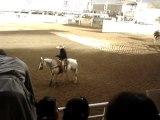 entrainement cavalier rodeo