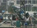 Hélicoptère : crash à Auckland