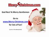 God Rest Ye Merry Gentlemen - Merry Christmas