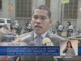 Leocenis solicitó a la Vicepresidencia amnistía para los presos políticos