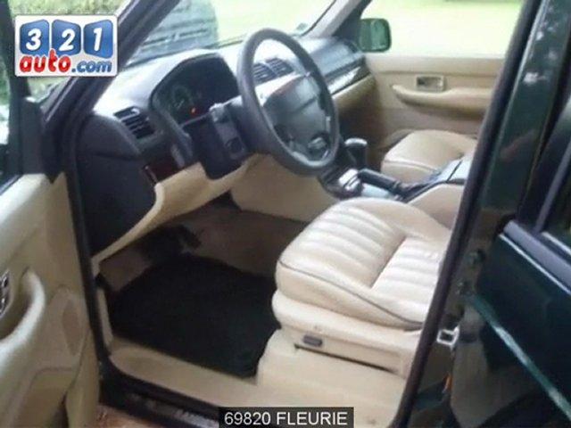 Occasion LAND ROVER RANGE ROVER FLEURIE