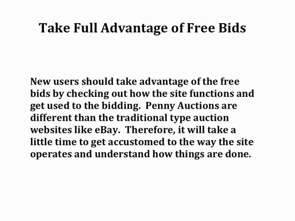 How To Get Free Bids Video Dailymotion