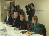 Reunión entre PP vasco y Aralar en San Sebastián