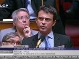 Valls et Guéant s'écharpent sur la sécurité