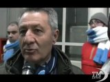 Calcio, la rabbia dei tifosi napoletani dopo pareggio con la Juve. I commenti all'uscita dallo stadio San Paolo a Napoli