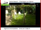 Achat Vente Maison Champigny sur Marne 94500 - 168 m2