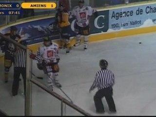 Chamonix contre Amiens 1er tiers