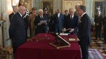Napolitano - Giuramento del Ministro Filippo Patroni Griffi