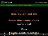 ALAIN SOUCHON  -  Foule Sentimentale