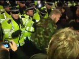 Violence as Occupy London protesters clash with police