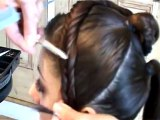 Wedding Hair Style - Hair Up by Claire Wallace Style 1(Part of 'How to Style' Hair Series)