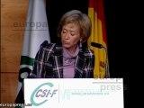 CSIF rinde homenaje a Mª Teresa Fernández de La Vega