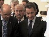 Nicolas Sarkozy : invité de marque des 50 ans du CNES