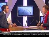 Luc Chatel invité de Christophe Barbier sur iTélé le 1er décembre 2011