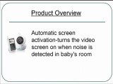 Philips AVENT Digital Video Baby Monitor, White