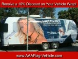 How Much Are Vehicle Wraps and Vinyl Wraps – Call AAA Flag