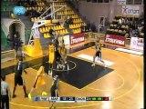 Maroussi BC vs PAOK Thessaloniki 69-71 Gagaloudis 10 yellow Kommatos 15 yellow Xaritopoulos 9 yellow Dikoudis 9 black season 2011-2012  1 part