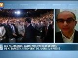 Nicolas Sarkozy à Toulon : après le discours, l'Allemagne attend des faits