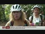Le Raid l'Arbre Vert avec l'Association RMC/BFM : épreuve du Triathlon (reportage BFMTV)