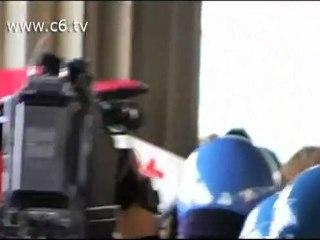 La polizia carica il corteo degli studenti alla stazione Tiburtina
