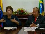 Rousseff invita a Chávez a la cumbre de desarrollo sostenible Río+20