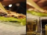 Recette de cuisine des bouchées de salade Landaise vinaigrette