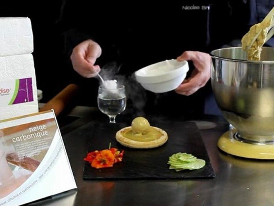 Cuisine Moleculaire Sublimation Glacee A La Vanille Molecular