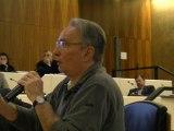 Bernard Rivalta intervient sur la mixité et les transports aux rencontres élus, militants, citoyens Déloger la Crise