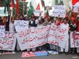 Enraged Pakistanis protest NATO attack