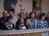 Ségolène Royal a rencontré les associations carritatives à Niort (reportage aux restaurants du coeur de Niort)