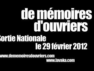 BA De Mémoires d'Ouvriers