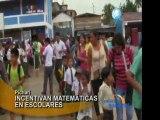 Escolares del VRAE participan en concurso de matematicas