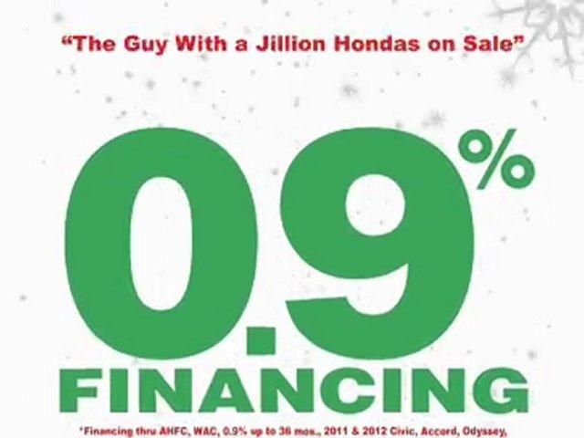 It's Happy Honda Days at Kansas City Honda Dealer, Frank Ancona Honda!